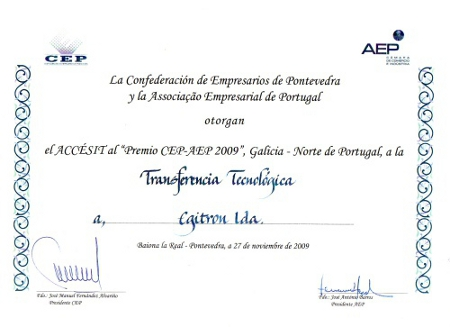 Prémio CEP-AEP 2009
