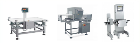 Dynamic checkweighers and metal detectors