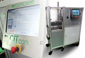 CITcork - System for Cork Treatment Tests through Compression, Insertion and Relaxation